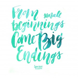 Lettering by Source Creative