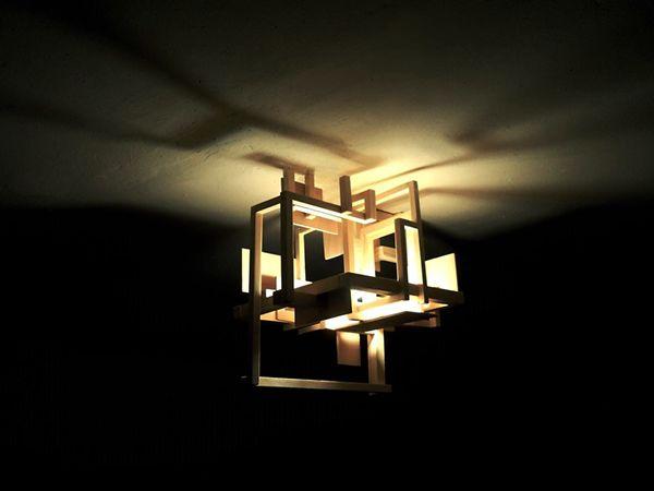Spirabile Lumen ceiling light