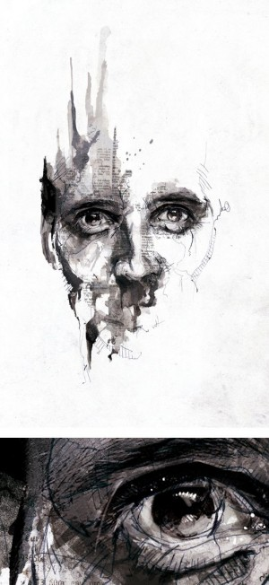Textured Illustrations by Florian Nicolle aka Neo | Inspiration Grid | Design Inspiration | illu ...