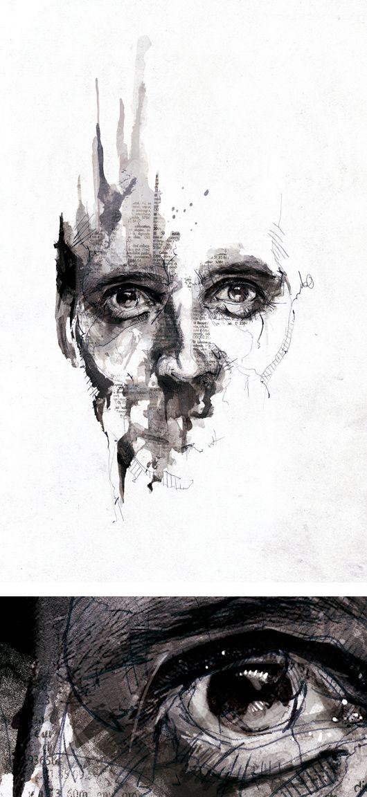 Textured Illustrations by Florian Nicolle aka Neo | Inspiration Grid | Design Inspiration | illu ...