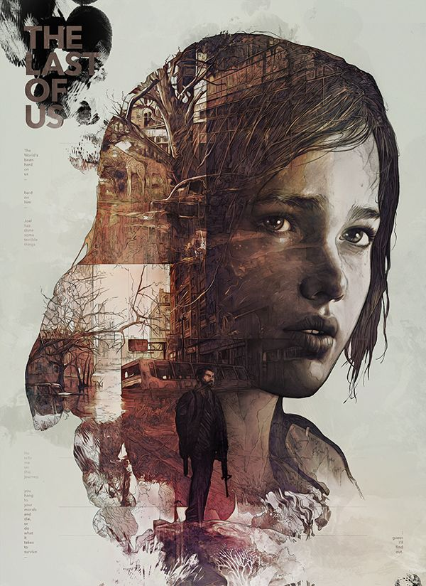 The Last of Us by StudioKxx Krzysztof Domaradzki | Illustration | Pinterest | Last Of Us