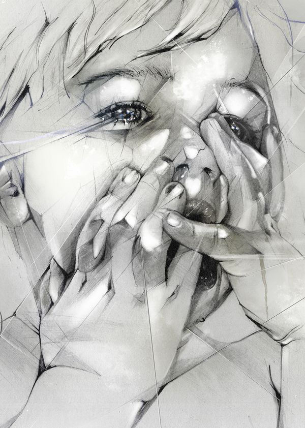 This really draws me in. | Art Inspiration | Pinterest | Drawing, Digital Art and Pencil