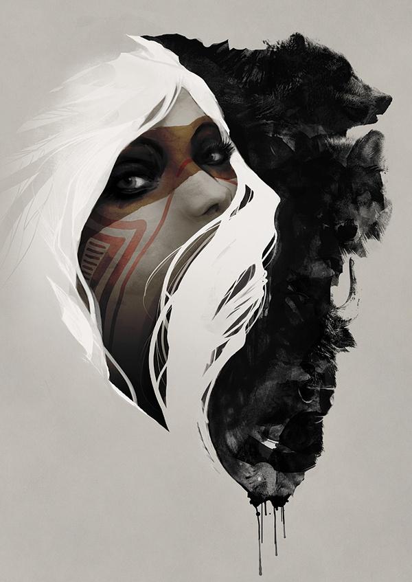 Totem on Behance | digital illustration | Pinterest | Totems, Behance and Illustration