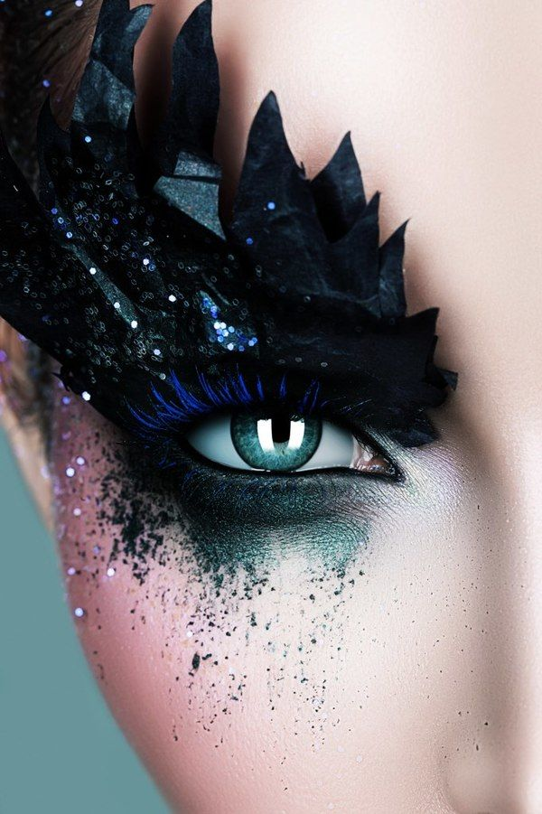 ˚View Darkness   Makeup I would love to photograph.   Pinterest   Darkness, Eye and Lashes