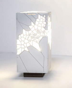 Voronoi and Delaunay Table Light by Mariam Ayvazyan – InteriorZine