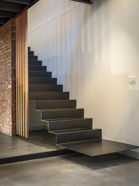 31 balmain street – industrial staircase