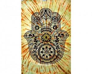 Fatima Hand Mandala Wall Hanging Tapestry