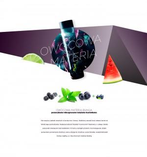 Bunga – napój owocowy. Smak: Owocowa Materia. Bunga – fruit drink. Taste: Fruit Matter