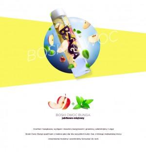 Bunga – napój owocowy. Smak: Boski Owoc.Bunga – fruit drink. Taste: Divine Fruit
