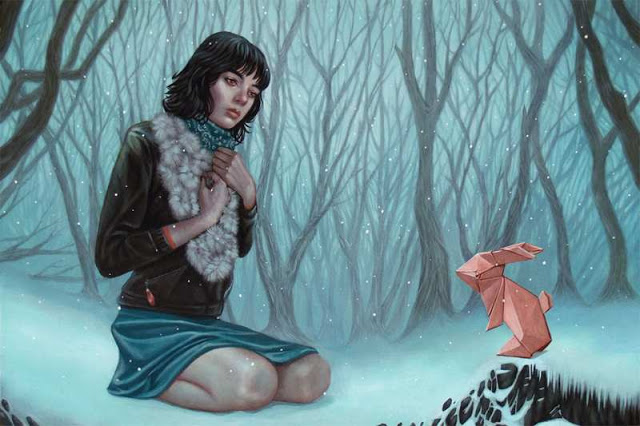 Acrylic Paintings on Wood by Casey Weldon | 2 Illustration Mag