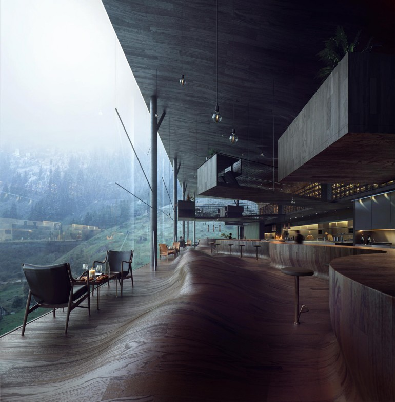 – Adventurous dining – Vals/Switzerland, 2015 by Mir – Bergen, Norway