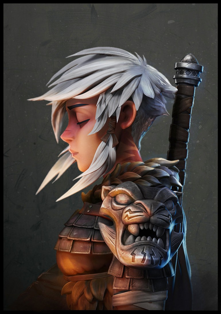 "Based on Johannes Helgeson amazing ""Warrior"""