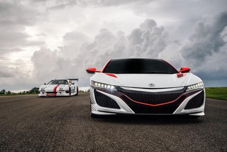 Acura NSX supercar