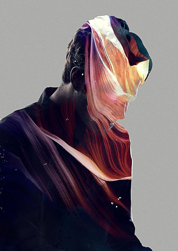 Art Direction for Calvin Goldspink | Composite Inspiration | Pinterest | Behance, Art and Art Club