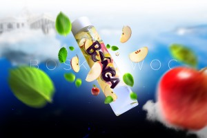 Bunga, Boski Owoc – IlustracjaBunga, Divine Fruit – Illustration