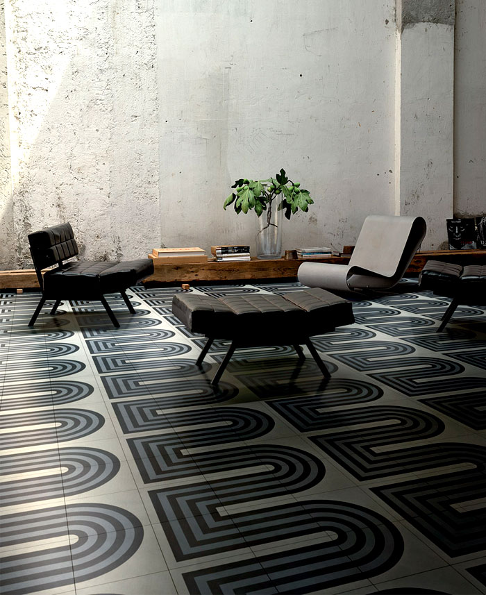Cementiles Collection by Tom Dixon for Bisazza – InteriorZine