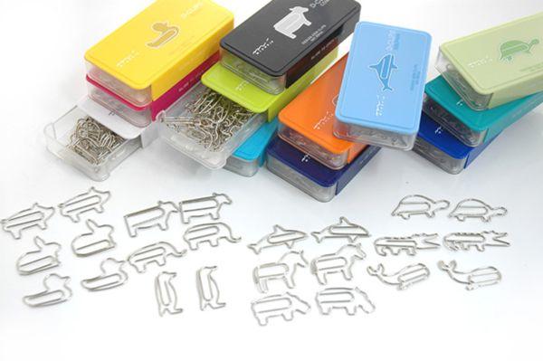 Creative paper clip by MIDORI