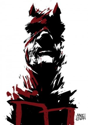 Daredevil by Mike Kevan | Illustration | Pinterest | Marvel Art, Marvel and Crybaby