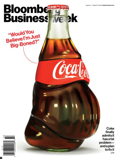 Bloomberg Businessweek cover by Justin Metz