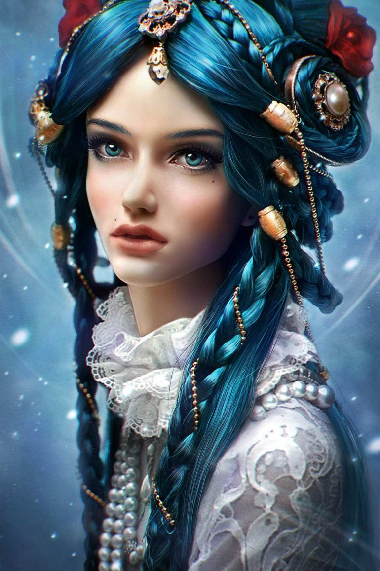 Digital Character Illustrations by Daria Ridel | 2 Illustration Mag