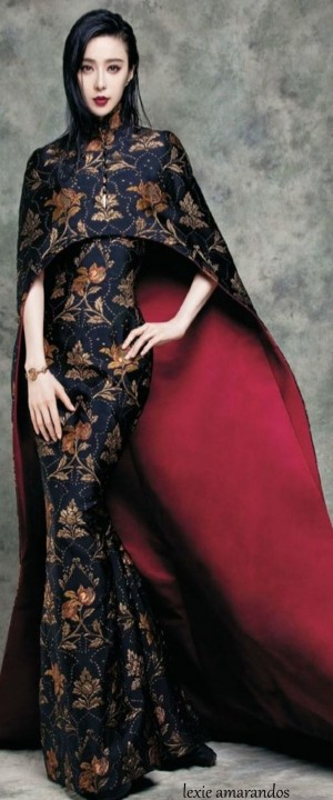 Fan Bingbing Takes On Luxe Style for Vogue Taiwan Cover Shoot | Valentino, Fall 2015 and Haute c ...