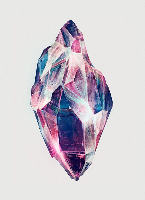 Floral Anthem, les dessins de Karina Eibatova | Minerals, Crystals and Gems