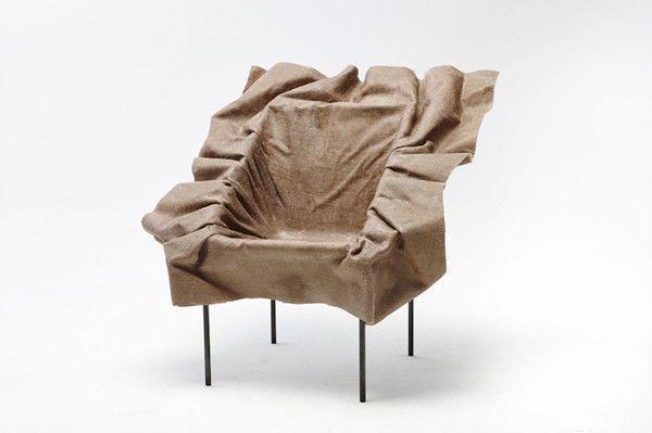 Frozen Textile Poetic Furniture