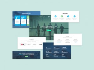 Mail is a business landing page perfect for creating sites for different services: hosting, mail ...
