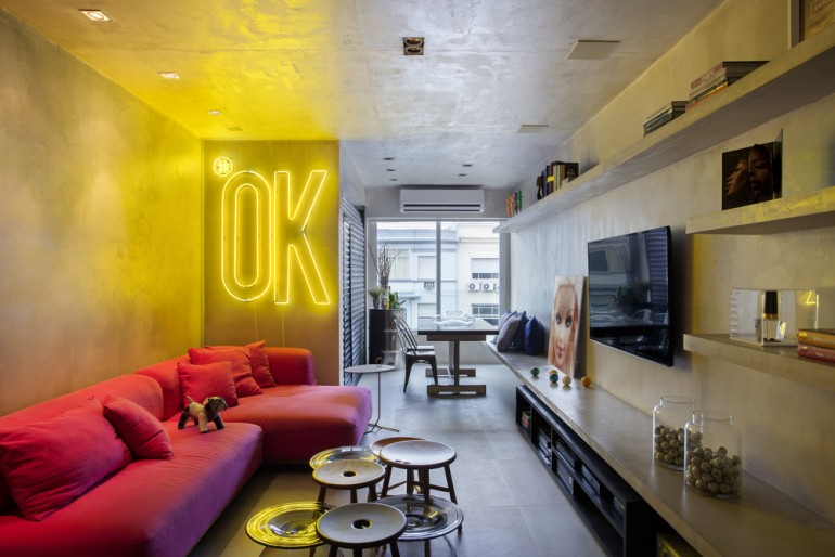 New York Style Apartment in Ipanema Automated and Controlled Via Ipad