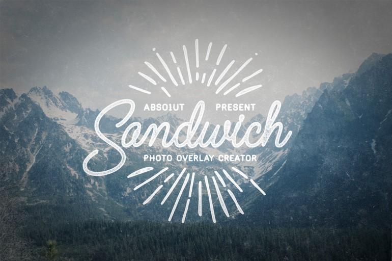 Sandwich – Photo Overlay