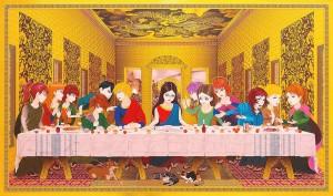 Religious Painting Series by Hiroshi Mori | 2 Illustration Mag