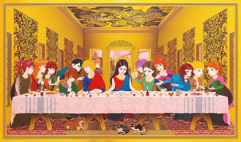 Religious Painting Series by Hiroshi Mori | 2 Illustration Mag