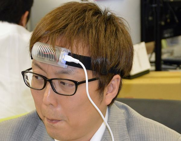 USB Forehead Neck Cooler by Thanko