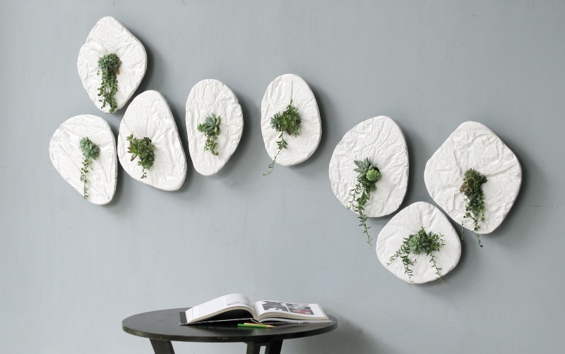 Visual Effect on the Wall: Seed by Taeg Nishimoto