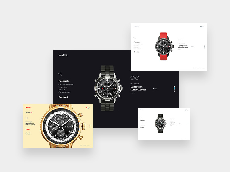 If you are a watch lover then you will gonna love this creative template.