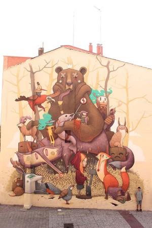 Tribute to the Iberian Wildlife