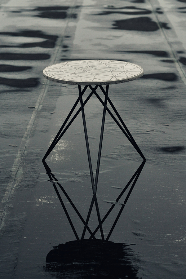 Poly – Side table with process