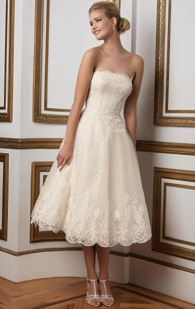 2016 Amazing Short Princess Wedding Dresses Online