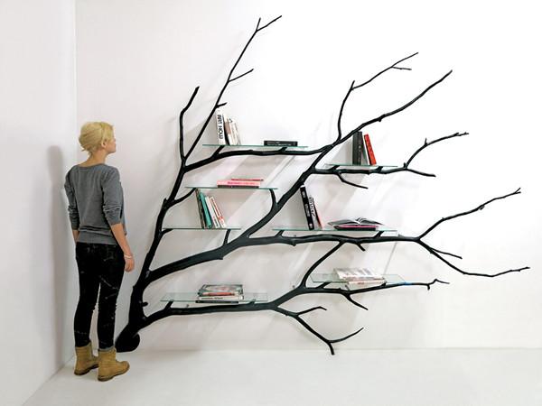 Bilbao bookshelf by Sebastian Errazuriz