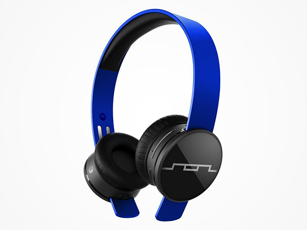 Sol Republic Tracks Air Bluetooth On-Ear Headphones (Electro Blue)