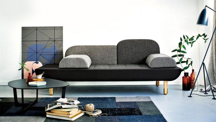 Light Gray Sofa –  #design,  #furniture,  #modernfurniture
