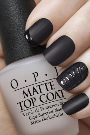 Matte Nail Art
