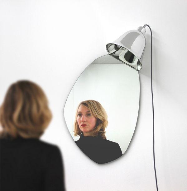 GRIMM mirror lamp by Bina Baitel