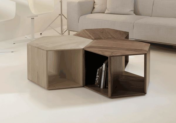 Hexa coffee table by DANIEL VIEIRA