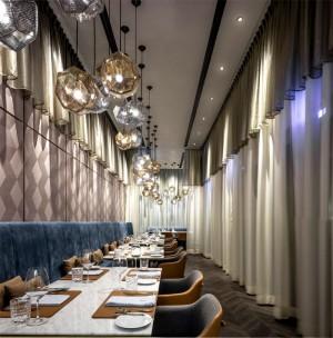 Eclectic Urban Hong-Kong Restaurant by Kokaistudios