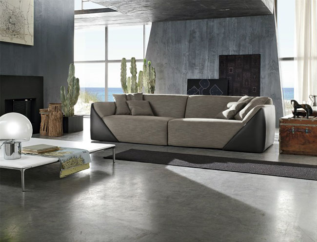 Lagoon Leather Sofa – #sofa, #design, #furniture, #seat,