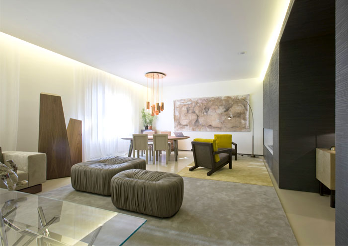 Lounge Living Project by Bartoli Design – InteriorZine.com