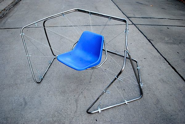 Outdoor chair by Martin Luttecke