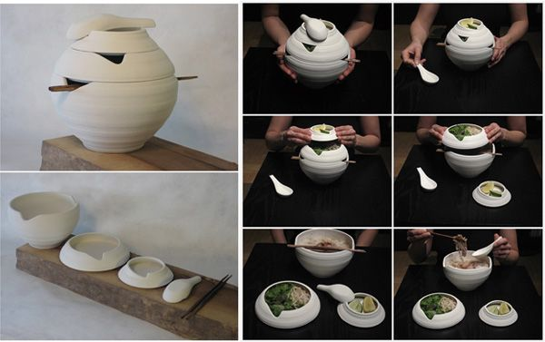 Pho Tableware by Omid Sadri