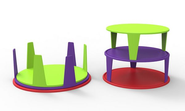 Projeto Mangiare tables by Erivelton Marinho